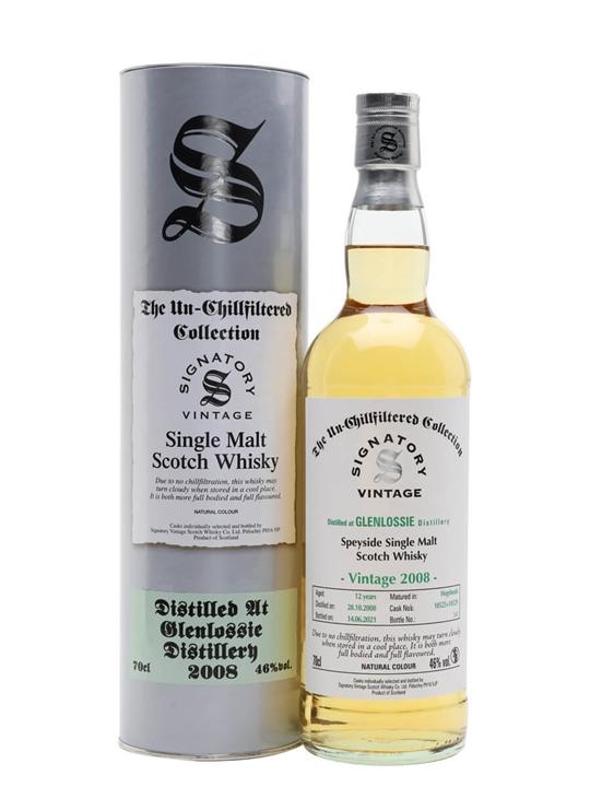 Glenlossie 2008 / 12 Year Old / Signatory Speyside Whisky