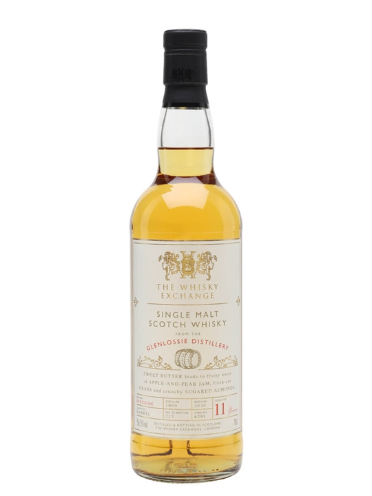 Glenlossie 2009 / 11 Year Old / The Whisky Exchange Speyside Whisky