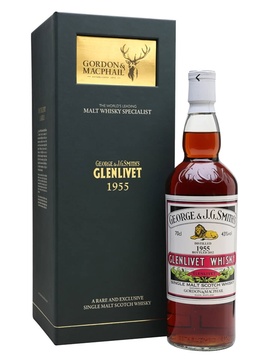 Glenlivet 1955 / 56 Year Old / Gordon & Macphail Speyside Whisky