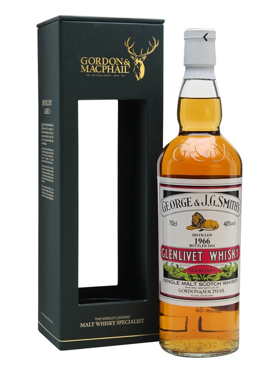 Glenlivet 1966 / 47 Year Old / Gordon & Macphail Speyside Whisky