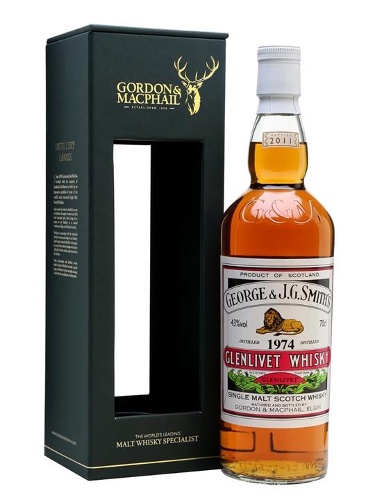 Glenlivet 1974 / Bot.2011 / Gordon & MacPhail Speyside Whisky