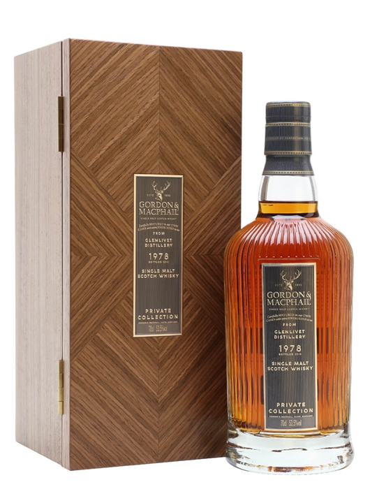 Glenlivet 1978 / 40 Year Old / Private Collection / G&M Speyside Whisky