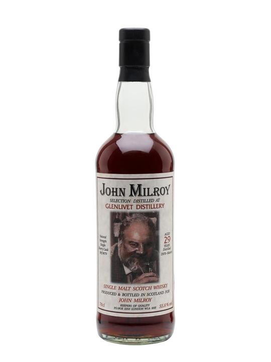 Glenlivet 1970 / 29 Year Old / Sherry Cask / John Milroy Speyside Whisky