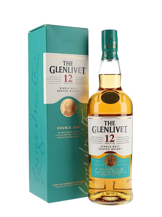 Glenlivet 12 Year Old Speyside Single Malt Scotch Whisky