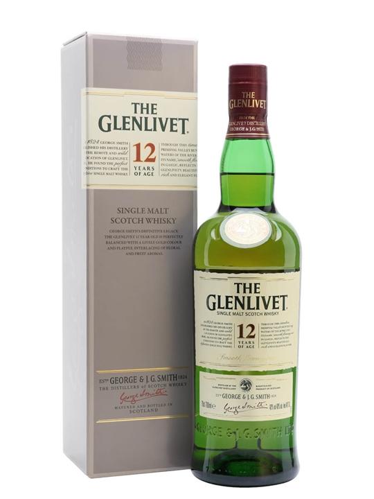 Glenlivet 12 Year Old Speyside Single Malt Scotch Whisky