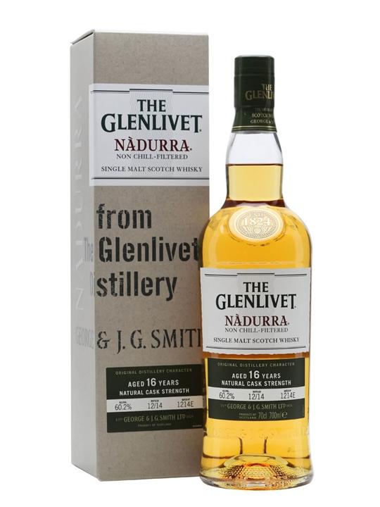 Glenlivet 16 Year Old / Nadurra / Batch 1214e Speyside Whisky