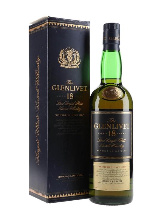 Glenlivet 18 Year Old / Bot.1990s Speyside Single Malt Scotch Whisky