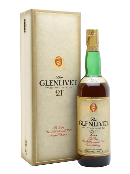 Glenlivet 21 Year Old / Bot.1980s Speyside Single Malt Scotch Whisky