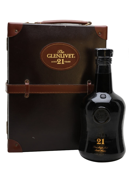 Glenlivet 21 Year Old Replica / Bot.1991 Speyside Whisky