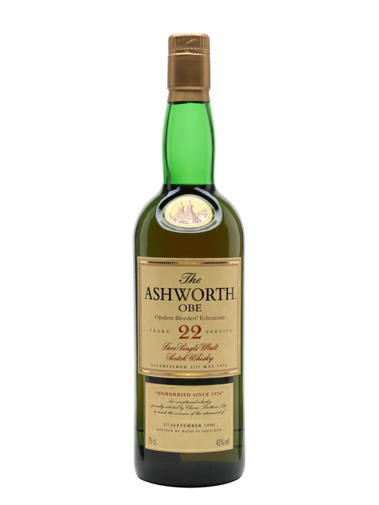 Glenlivet 22 Year Old / The Ashworth / Opulent Blenders Eclecticism Speyside Whisky