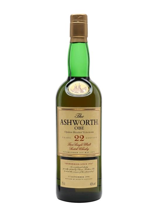 Glenlivet 22 Year Old / The Ashworth / Opulent Blenders Eclecticism Speyside Whisky