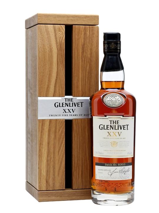 Glenlivet 25 Year Old / XXV Speyside Single Malt Scotch Whisky