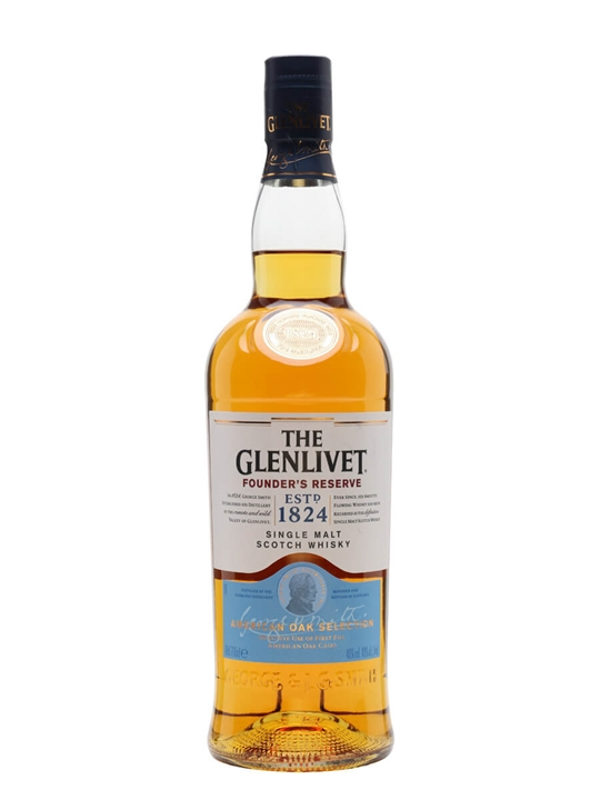 Glenlivet Founder's Reserve Speyside Single Malt Scotch Whisky