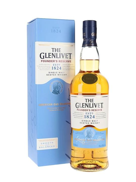 Glenlivet Founder's Reserve Speyside Single Malt Scotch Whisky