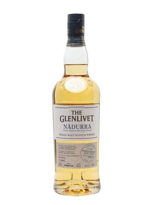 Glenlivet Nadurra Peated Whisky Cask Finish / Batch Pw0715 Speyside Whisky