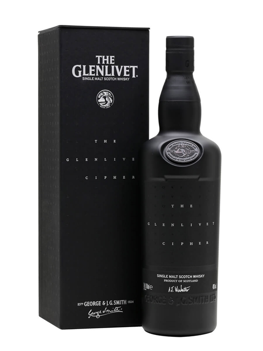 Glenlivet Cipher Speyside Single Malt Scotch Whisky
