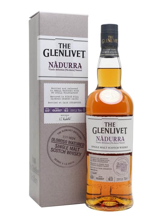 Glenlivet Nadurra Oloroso / Batch Ol0317 Speyside Whisky