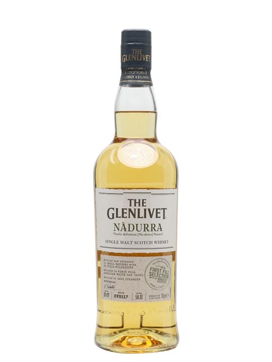 Glenlivet Nadurra First Fill / Batch Ff0117 Speyside Whisky