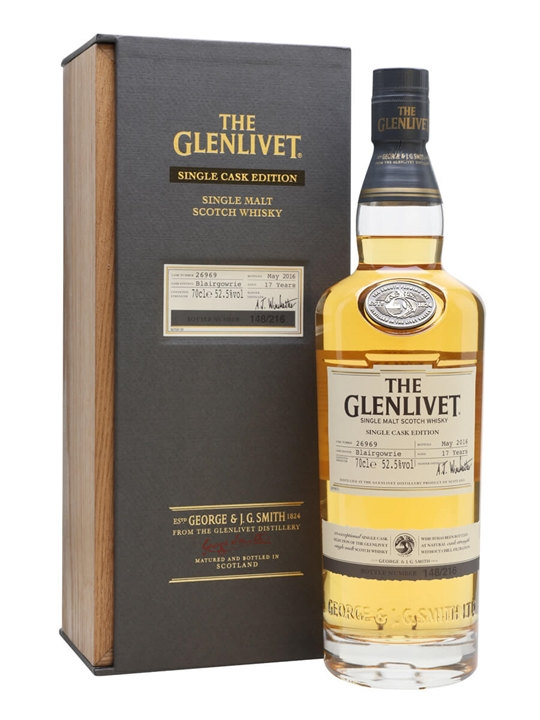 Glenlivet Blairgowrie / 17 Year Old Speyside Single Malt Scotch Whisky