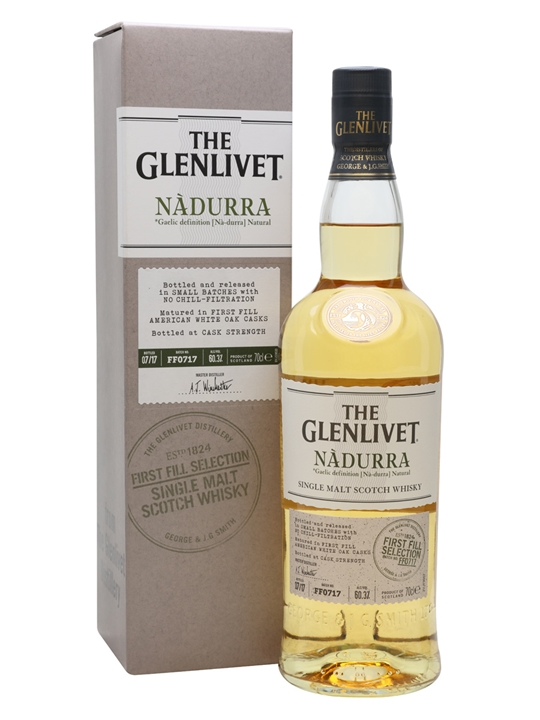 Glenlivet Nadurra First Fill / Batch FF0717 Speyside Whisky