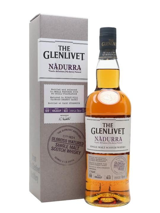 Glenlivet Nadurra Oloroso / Batch Ol1117 Speyside Whisky