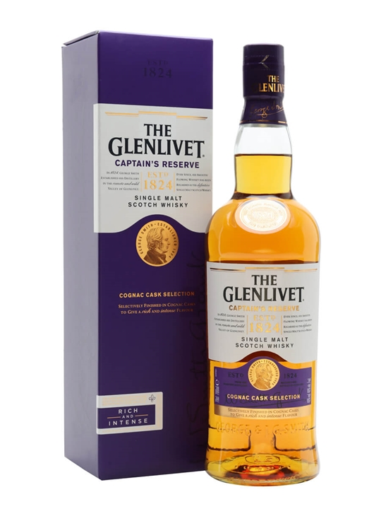 Glenlivet Captain's Reserve Speyside Single Malt Scotch Whisky