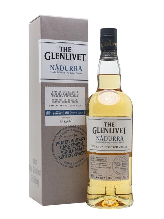 Glenlivet Nadurra Peated / Batch PW0717 Speyside Whisky