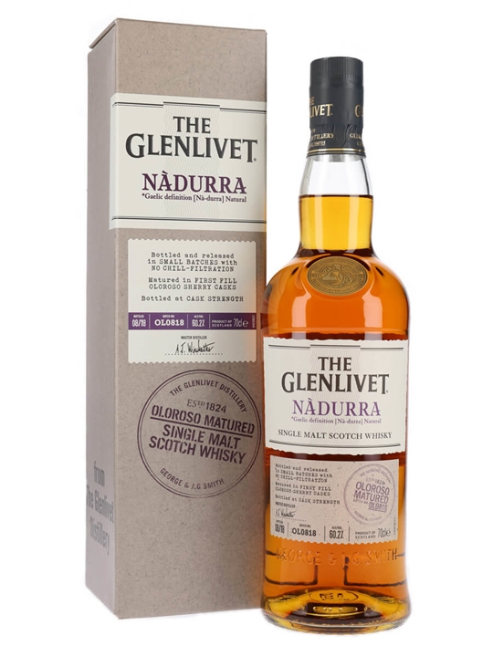 Glenlivet Nadurra Oloroso / Batch OL0818 Speyside Whisky