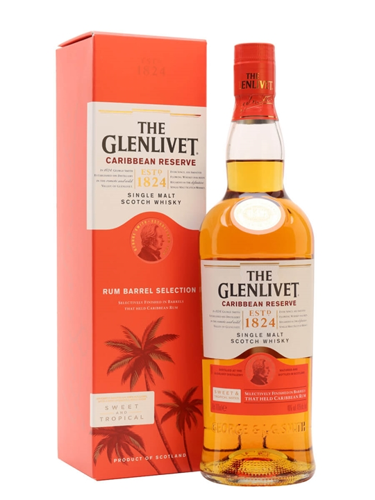 Glenlivet Caribbean Reserve Speyside Single Malt Scotch Whisky