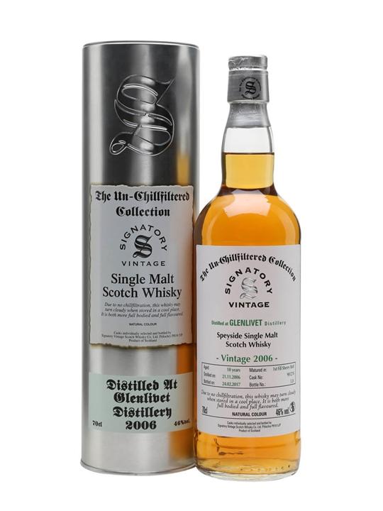 Glenlivet 2006 / 10 Year Old / Signatory Speyside Whisky