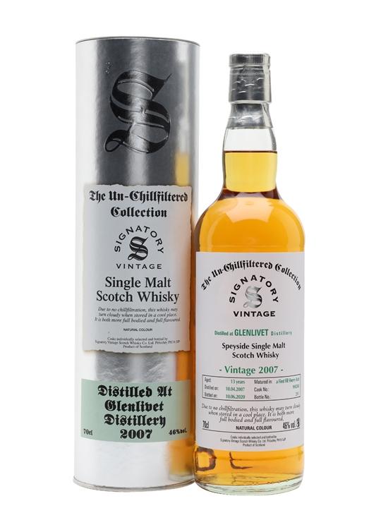 Glenlivet 2007 / 13 Year Old / Signatory Speyside Whisky