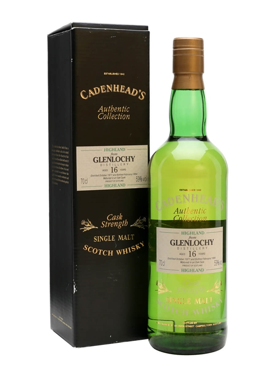 Glenlochy 1977 / 16 Year Old / Cadenhead's Highland Whisky
