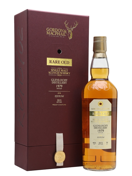 Glenlochy 1979 / Bot.2015 / Rare Old / Gordon & Macphail Highland Whisky