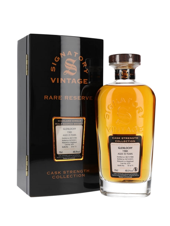 Glenlochy 1980 / 35 Year Old / Rare Reserve Highland Whisky