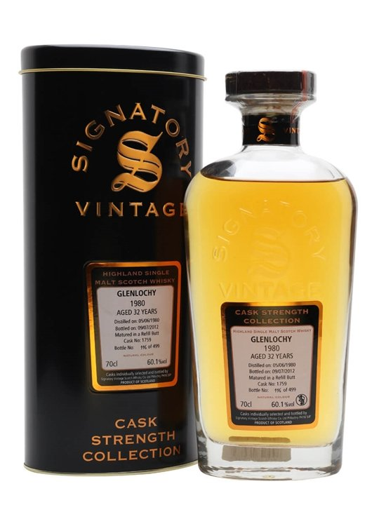 Glenlochy 1980 / 32 Year Old / Cask #1759 Highland Whisky