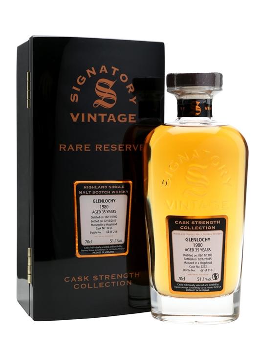 Glenlochy 1980 / 35 Year Old / Rare Reserve / Signatory Highland Whisky