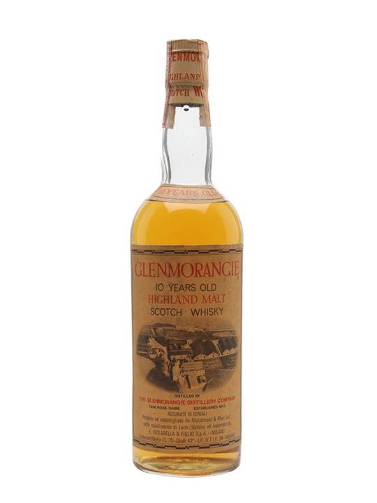 Glenmorangie 10 Year Old / Bot.1960s Highland Whisky