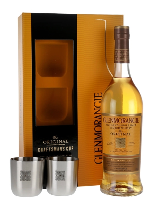 Glenmorangie 10 Year Old / Craftsman Cup Gift Set Highland Whisky