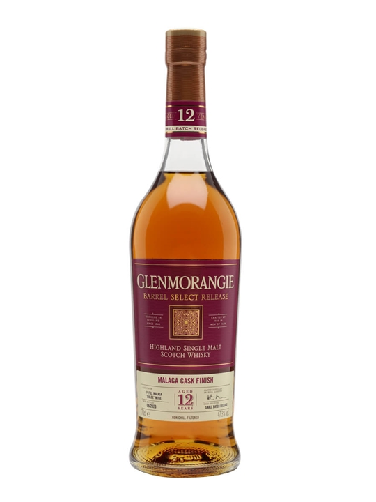 Glenmorangie 12 Year Old / Malaga Cask Finish Highland Whisky