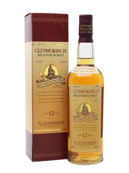 Glenmorangie 12 Year Old / Millennium Malt Highland Whisky