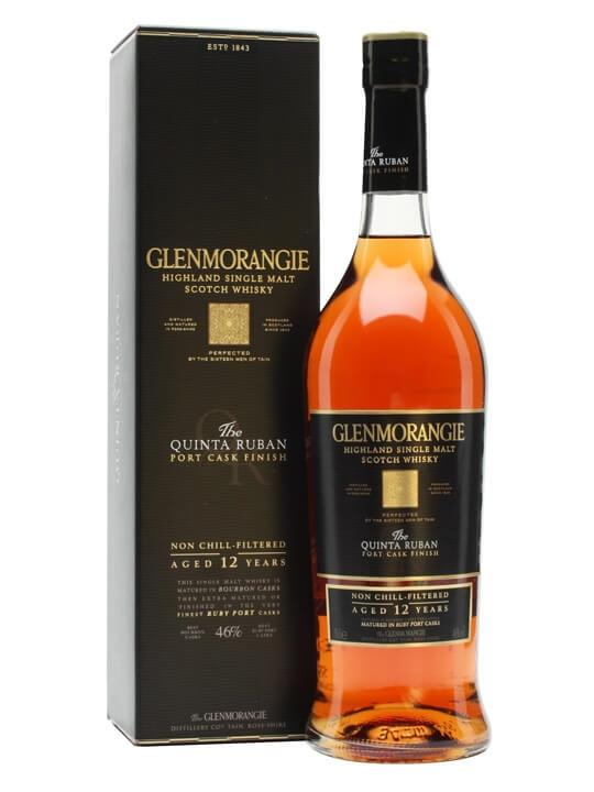 Glenmorangie Quinta Ruban 12 Year Old / Port Finish Highland Whisky