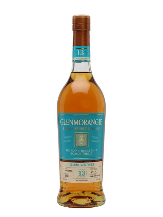 Glenmorangie Barrel Select Release 13 Year Old / Cognac Cask Finish Highland Whisky
