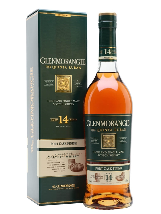 Glenmorangie Quinta Ruban 14 Year Old / Port Finish Highland Whisky