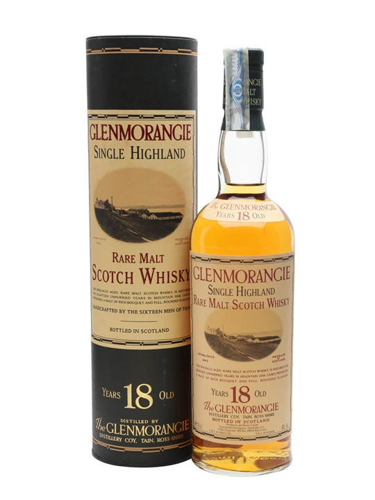 Glenmorangie 18 Year Old / Bot.1990s Highland Whisky