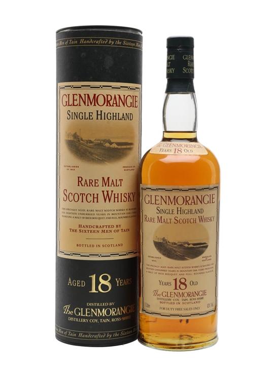 Glenmorangie 18 Year Old / Litre Highland Single Malt Scotch Whisky