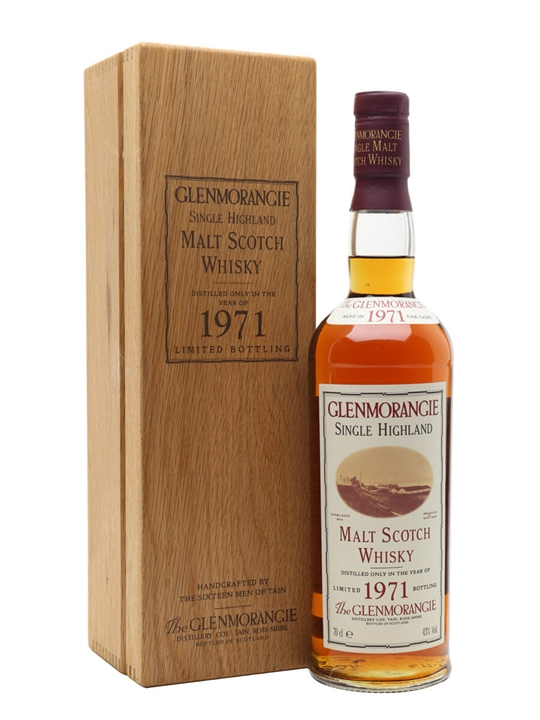 Glenmorangie 1971 Highland Single Malt Scotch Whisky
