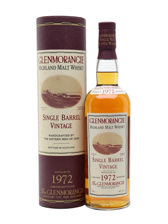 Glenmorangie 1972 / Bot.1994 / Cask #936 Highland Whisky