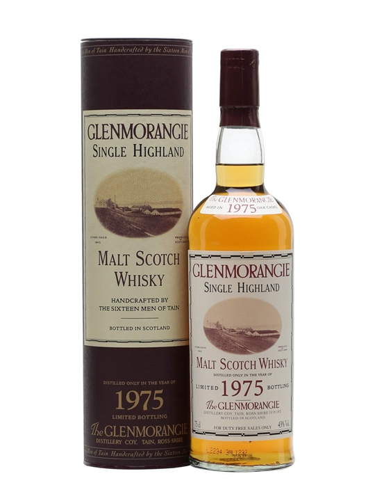 Glenmorangie 1975 / Bot.2002 Highland Single Malt Scotch Whisky