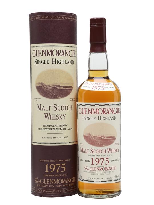 Glenmorangie 1975 / Bot.2001 Highland Single Malt Scotch Whisky