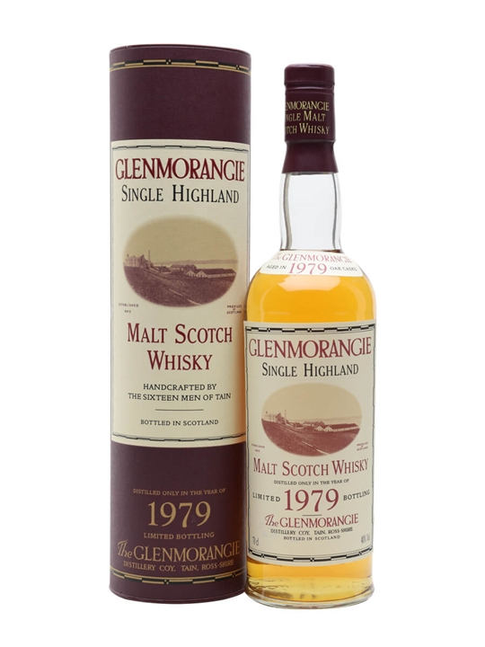 Glenmorangie 1979 / Bot.1995 Highland Single Malt Scotch Whisky